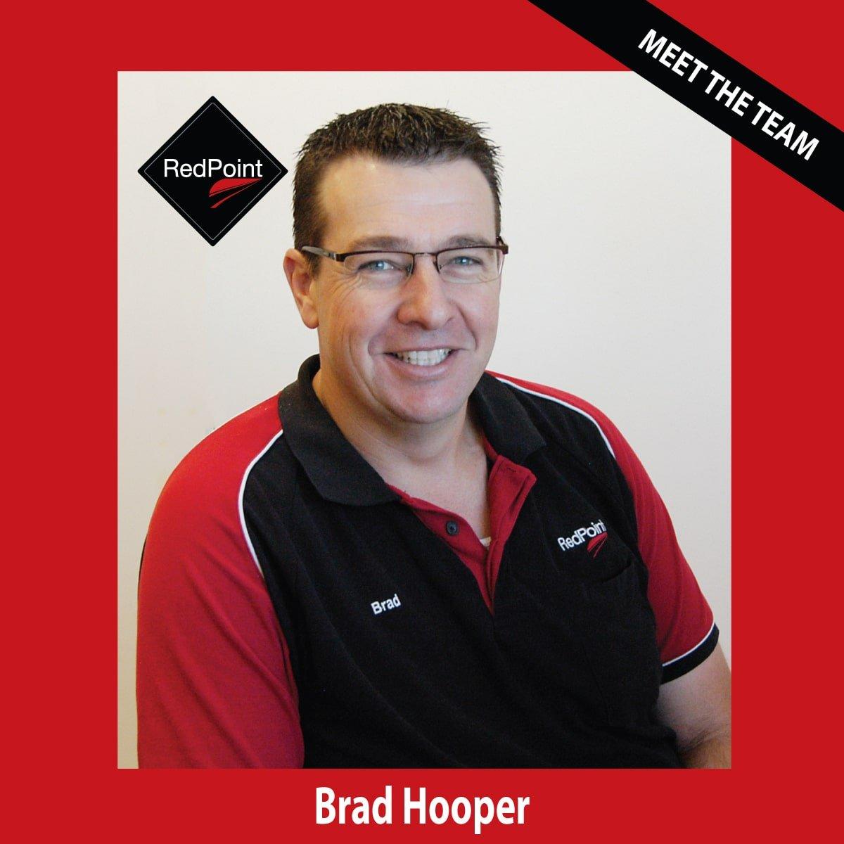 Team RedPoint Brad Hooper