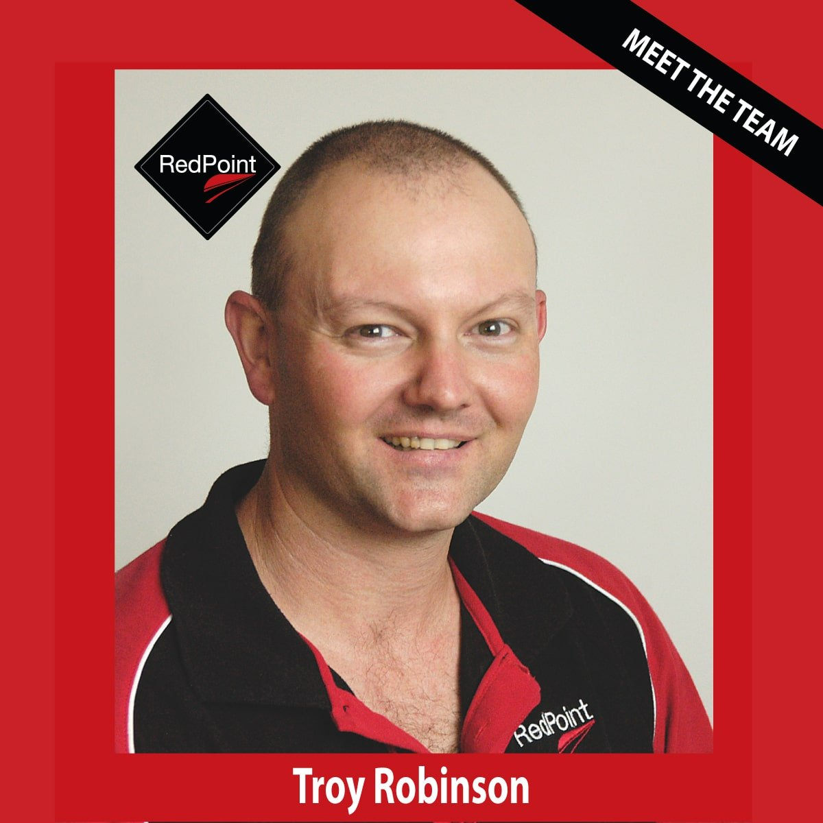 Team RedPoint Troy Robinson
