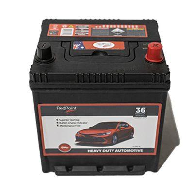 50D20L MF Bottom Hold Down RedPoint Battery