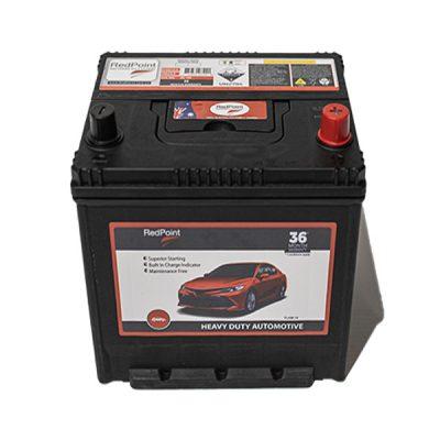 55D23LX MF Bottom Hold Down RedPoint Battery