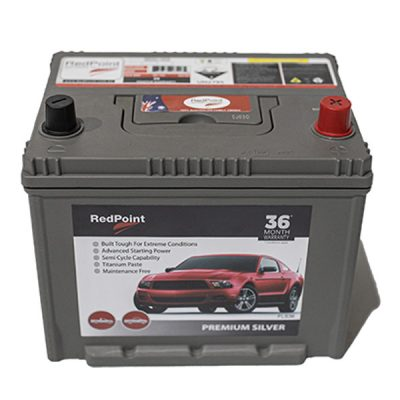 58 MF Silver 85L650S RedPoint Battery