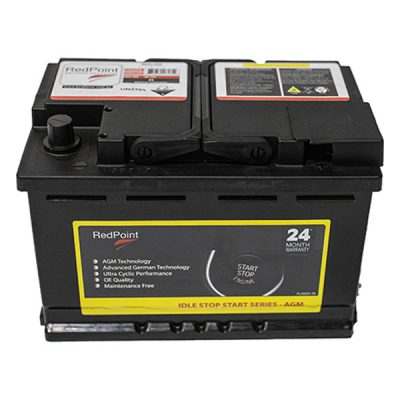 Din65LH AGM S56638 VRL370 ISS RedPoint Battery